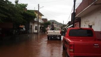 Lluvias en Oaxaca,