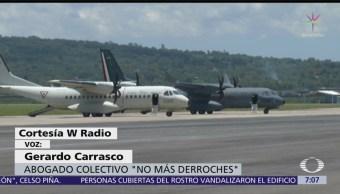 Los amparos contra el aeropuerto de Santa Lucía