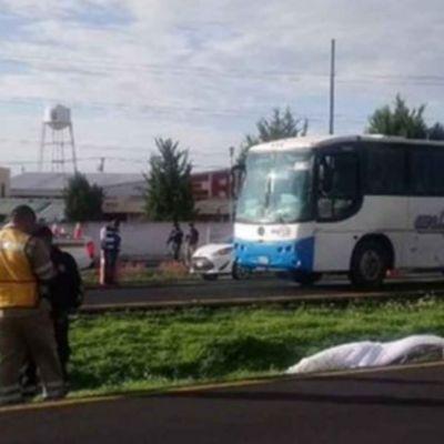Manifestante muere atropellado en autopista México-Pachuca