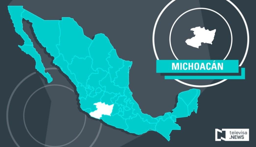 IMAGEN Enfrentamiento en Cotija, Michoacán, deja muerto (Noticieros Televisa)
