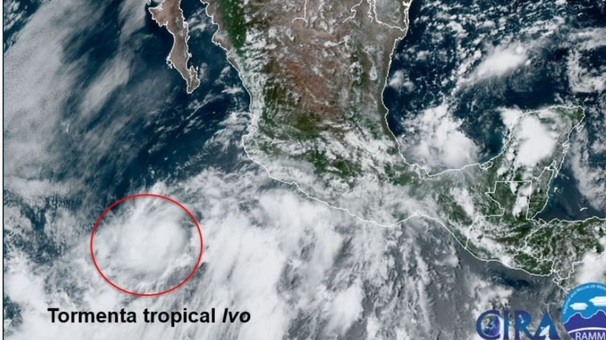 tormenta tropical 'Ivo'