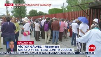 FOTO: Marchan Protestan Contra Jueces Ciudad De México, 19 agosto de 2019