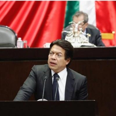 Morena respetará ley para presidir Cámara de Diputados: Mario Delgado