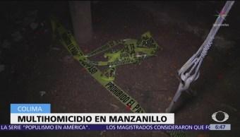 Matan a seis personas en centro de rehabilitación de Colima