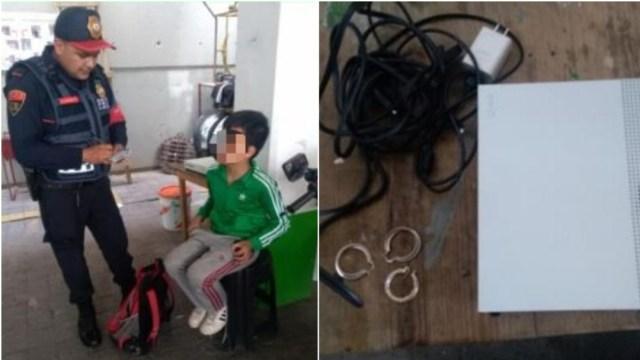 Foto: Un hombre y su hijo de 10 años recibieron llamadas anónimas, 3 de agosto de 2019 (SSC)