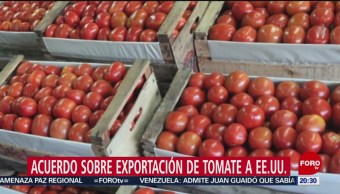 Foto: México Estados Unidos Acuerdo Exportación Tomate 21 Agosto 2019