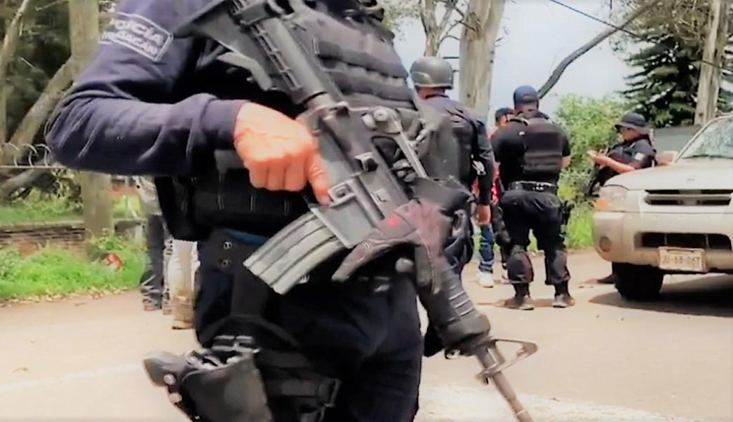 Hallazgo 19 cuerpos en Uruapan narcoguerra CJNG Los Viagras