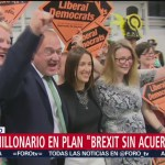 Foto: Millonario Plan Brexit Sin Acuerdo Reino Unido