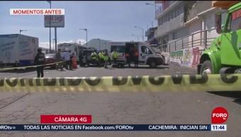 Muere persona en accidente automovilístico en la autopista México-Puebla