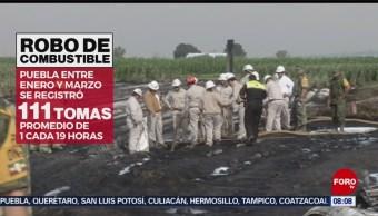 FOTO: Nextlalpan y Tepeaca, zonas de mayor robo de combustible, 3 AGOSTO 2019