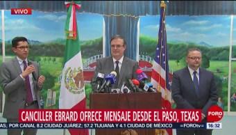 Foto: No Descarta Solicitud Extradición Tirador El Paso Ebrard, 5 de agosto de 2019