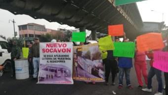 Foto: Vecinos de la colonia Moctezuma bloquean la avenida Oceanía, 22 agosto 2019