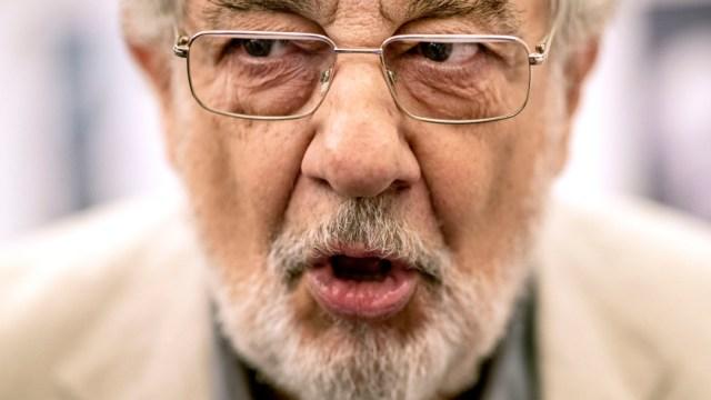 FOTO Orquesta de Filadelfia cancela actuación de Plácido Domingo (AP)