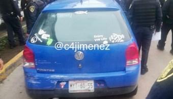 Foto: La Procuraduría investigará la muerte de una persona por una bala de un policía capitalino en la calzada Vallejo, en la Gustavo A. Madero, el 10 de agosto de 2019 (Twitter @c4jimenez)