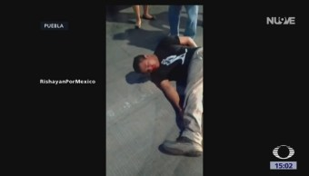 FOTO: Policía Busca Conductor Que Golpeó Atropelló Joven Puebla