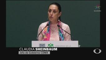 Foto: Sheinbaum Plan Atención Violencia Contra Mujeres 28 Agosto 2019
