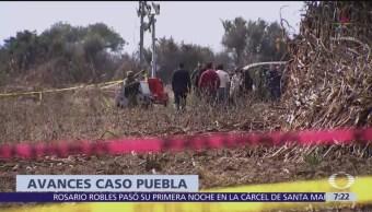 Presentan avances de investigación de desplome de helicóptero en Puebla