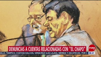 FOTO: Presentan denuncias a las cuentas relacionadas con 'El Chapo', 11 Agosto 2019