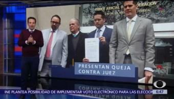 Presentan queja contra juez del caso Rosario Robles