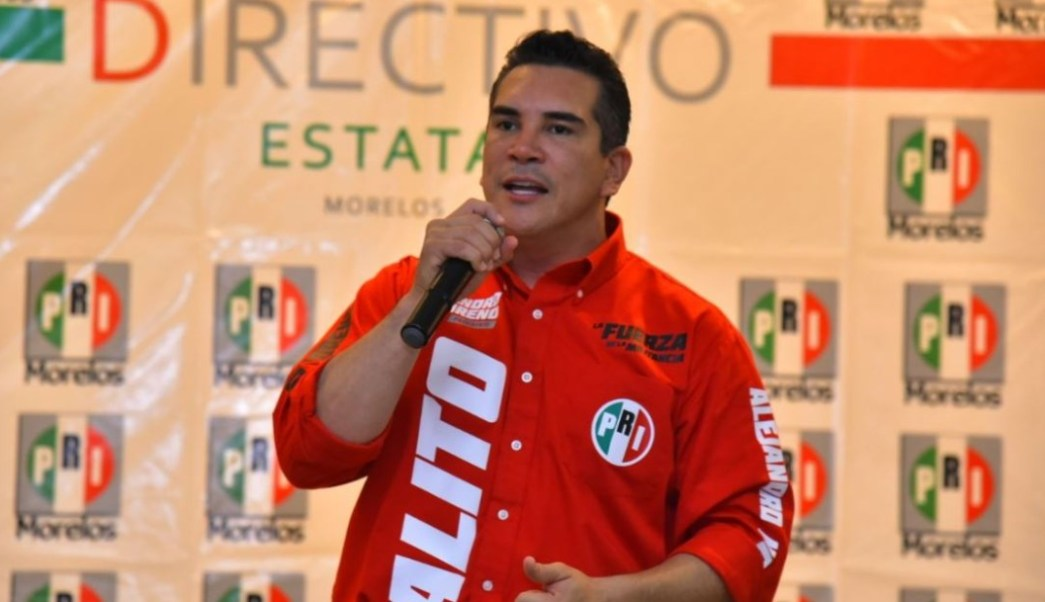 Foto: Tras confirmarse su triunfo, Alejandro Moreno Cárdenas dijo que el PRI será un partido crítico y firme, el 11 de agosto de 2019 (Twitter @alitomorenoc)