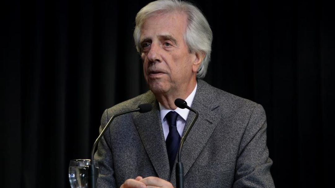 Imagen: El mandatario lideró el partido de izquierda Frente Amplio en su llegada al poder en 2005, 20 de agosto de 2019 (EFE)