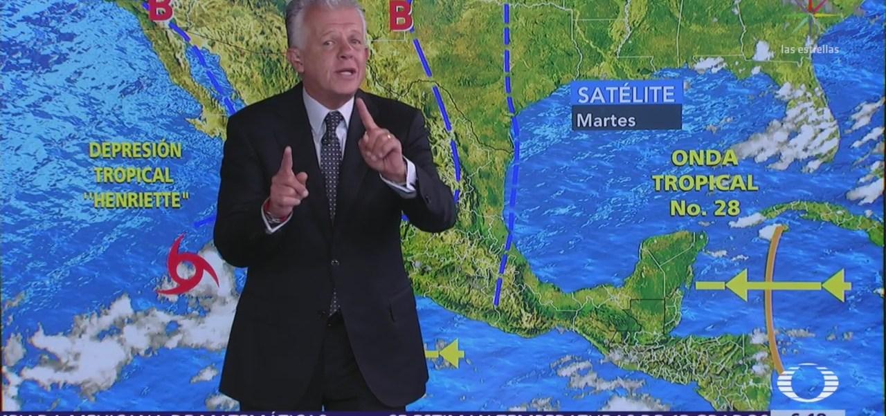 Prevén lluvias muy fuertes en 10 estados de la República Mexicana