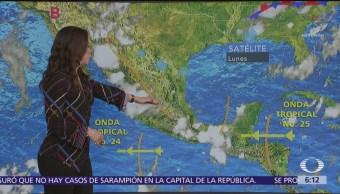 Pronostican lluvias en 31 estados; en ochos serán muy fuertes