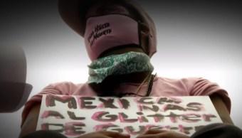 FOTO Protestas feministas en CDMX, la crónica (Noticieros Televisa)