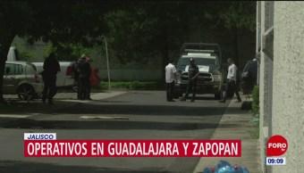 Realizan un operativo en Guadalajara y Zapopan