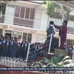 FOTO: Rechaza directora haber rapado alumno Nuevo León
