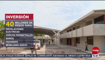 Foto: Reconstruyen 10 Escuelas Sufrieron Daños Sismo Sonora