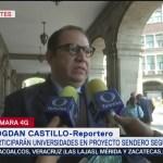 Rector de la Universidad del Pedregal se reúne con autoridades del gobierno capitalino