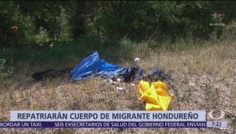 Repatrian cuerpo de migrante hondureño
