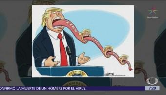 Reporte Trump: El segundo debate entre aspirantes demócratas