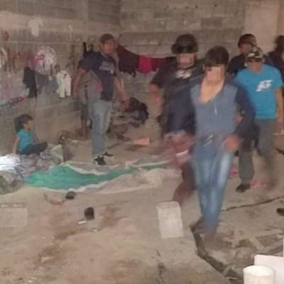 Rescatan a 26 migrantes en una casa de Tamaulipas