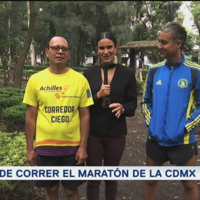 Reto de correr el Maratón de la CDMX