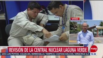 FOTO: Revisan Central Nuclear Laguna Verde Veracruz,