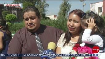 FOTO: Se casan 200 parejas en la alcaldía Xochimilco, 17 Agosto 2019