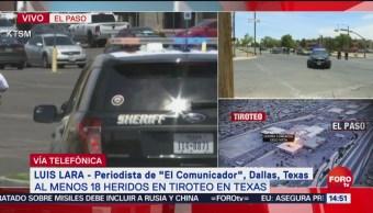 FOTO: Se desconoce número de tiradores en centro comercial en Texas, 3 AGOSTO 2019