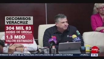 FOTO: Decomisan Más 304 Mil Dosis Droga Veracruz