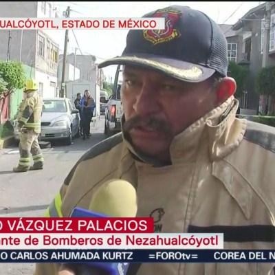 Se registra explosión por acumulación de gas en Nezahualcóyotl