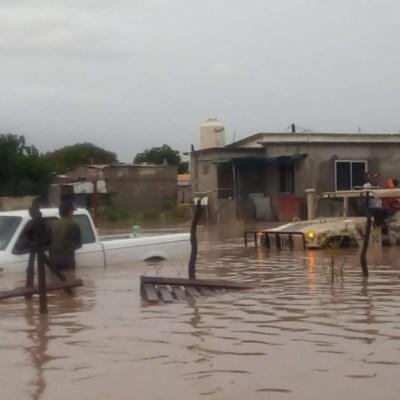 Se degrada 'Ivo' a depresión tropical; seguirán lluvias en el país