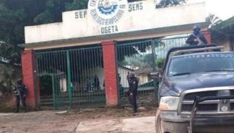 Seguridad en escuelas de Guerrero