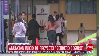 Sendero Seguro Reforzará Seguridad Universidades CDMX,