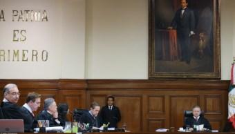 Foto: El Pleno de la Corte analizó diversas controversias constitucionales promovidas, 29 de agosto de 2019 (Cuarto Oscuro, archivo)