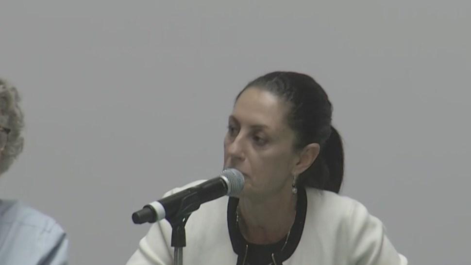 Foto: Claudia Sheinbaum, jefa de Gobierno de la Ciudad de México, 14 agosto 2019