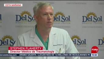 FOTO: Sigue la atención médica a victimas del tiroteo en El Paso Texas, 4 Agosto 2019