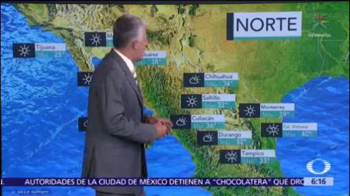 Termómetro rebasará los 45 grados en Baja California y Sonora