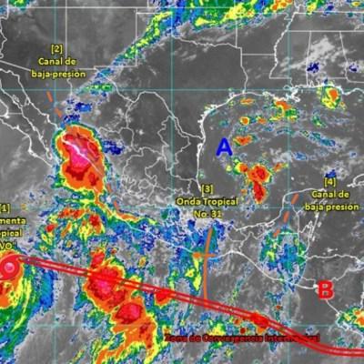 Tormenta 'Ivo' ocasiona inundaciones en Sinaloa