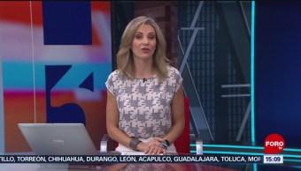 Foto: A Las Tres Ana Paula Ordorica Forotv 22 Agosto 2019